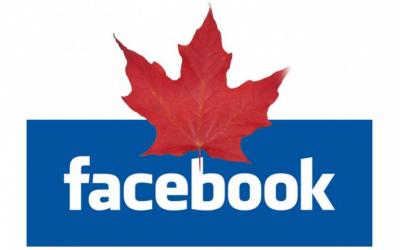 Facebook et le Canada une belle histoire d'amour!