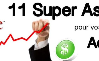 11 super astuces pour le succès de vos campagnes Adwords!